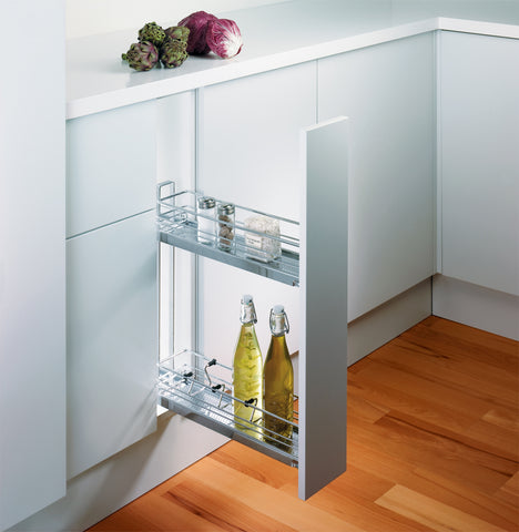 Peka Linea 150mm Base Unit Pull-Out with 2 Shelves