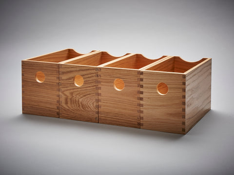 Oak Finger Joint Boxes set 4