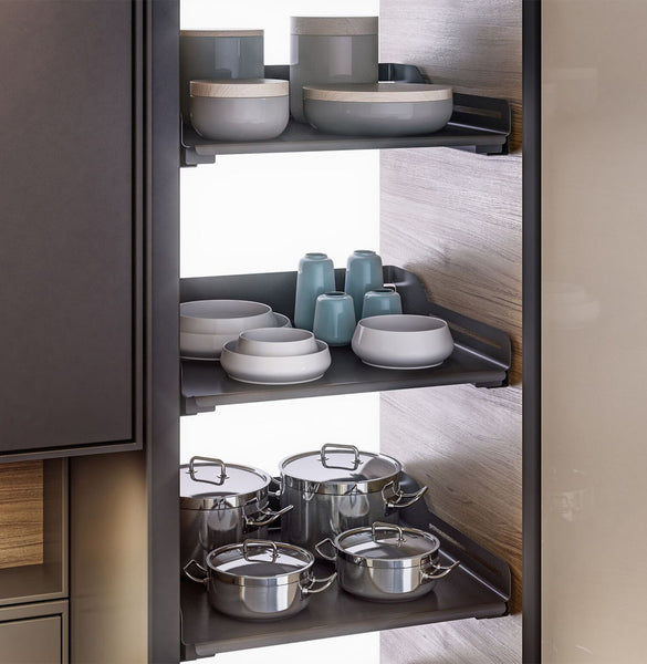 Peka Libell Extendo Pull-Out Shelf  Anthracite