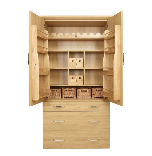 Wooden Larder Accessory Set in Unit