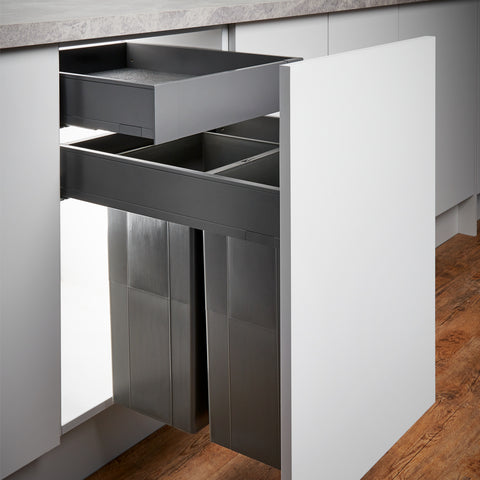 Blum Pullboy-Z Legrabox Internal Storage Drawer Open