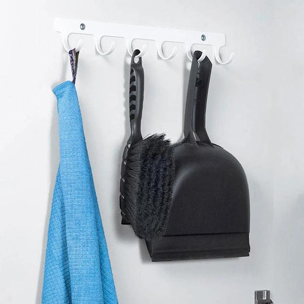 Peka Sesam Hook Rail White Lifestyle