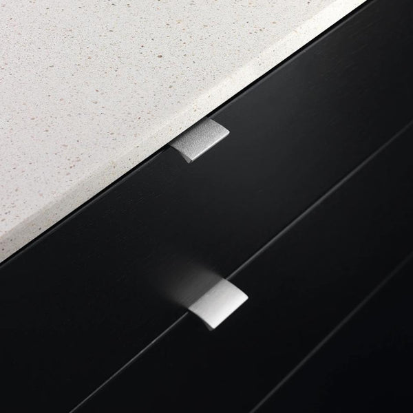 Edge Straight Profile Handle - Stainless Steel Look