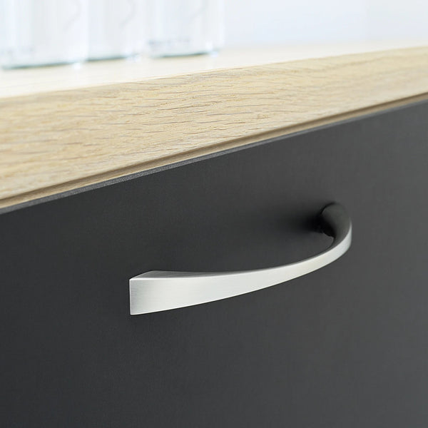 Snella Handle -Stainless Steel  Look