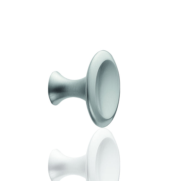 Bell Knob Stainless Steel Look