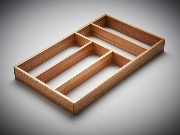 Oak Cutlery Divider 3 for Drawers