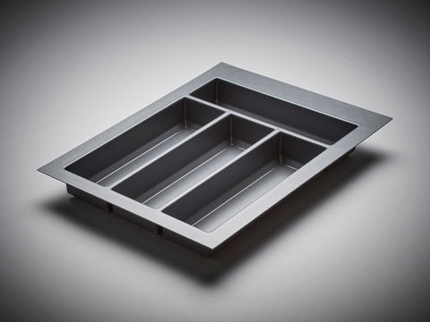 Cutlery Insert - Orion Grey 450mm Deep