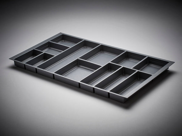 Cutlery Insert - Orion Grey 500mm Deep