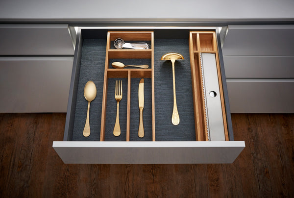 Oak Cutlery Divider 2 for Drawers