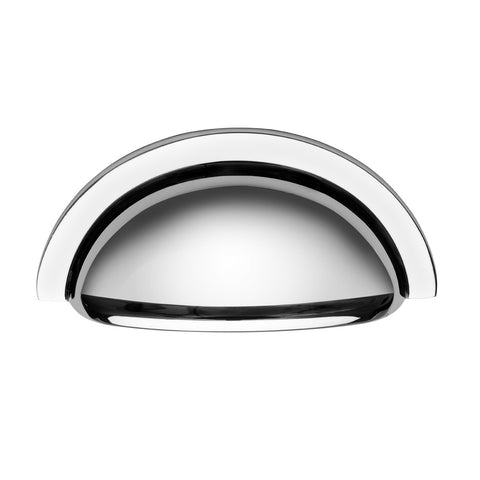 Oxford Cup Handle in Polished Chrome