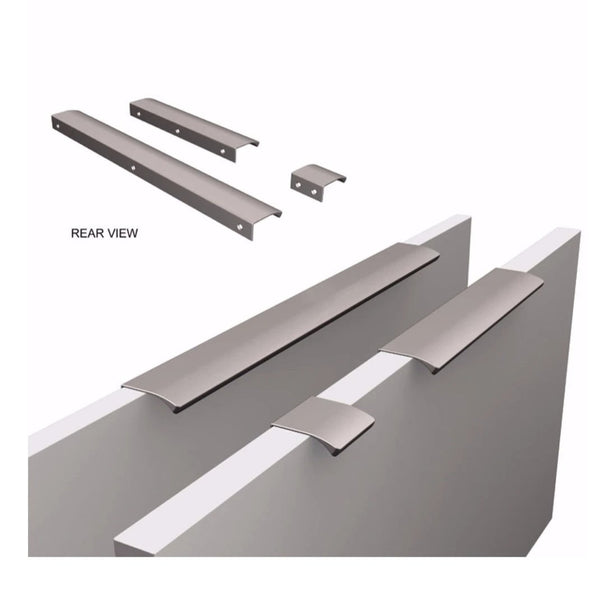 Edge Straight Profile Handle - Bright Chrome