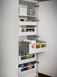 Blum Antaro Space Tower - Grey with Glass Inserts