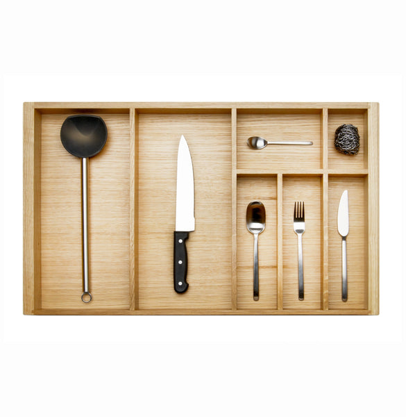 Oak Cutlery Insert -  450mm Deep