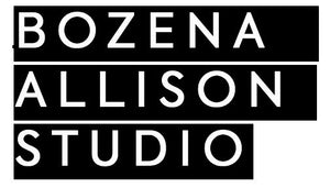 Bozena Allison Studio Black and White Logo