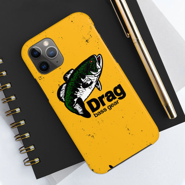 Drag Bass Gear Logo Tough Phone Case