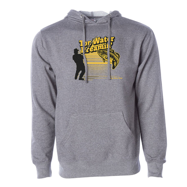 Drag Men's Top Water Dreamin' Gunmetal Grey 8.5oz Hoodie