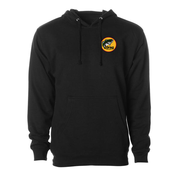 Drag Men's Logo Black 8.5oz Hoodie - Multiple Colorways