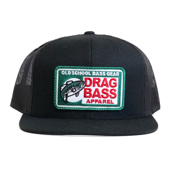 Drag Big Chief Black Flatbill Snapback Trucker Hat