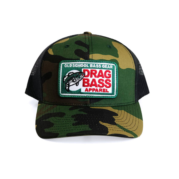 Drag Big Chief Camo Snapback Trucker Hat