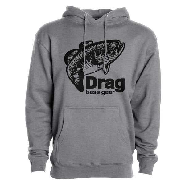 Drag Men's Large Mouth (Black) 10oz Heavy Duty Hoodie - Multiple Colorways