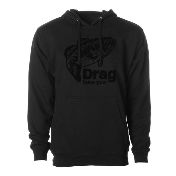 Drag Men's Large Mouth (Black) 8.5oz Hoodie - Multiple Colorways