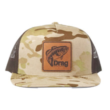 Load image into Gallery viewer, Drag Desert Sands Camo Flatbill Snapback Trucker Hat