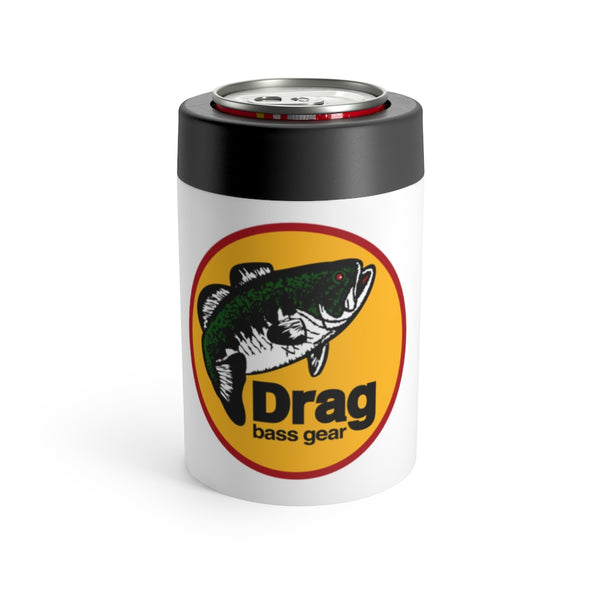 Drag Bass Gear Logo Can Holder