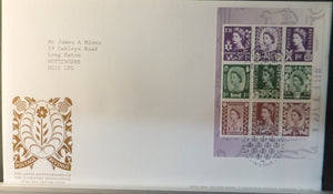 Great Britain Booklet Pane Royal Mail 2009 FDC - Country Definitives Gloucester postmark