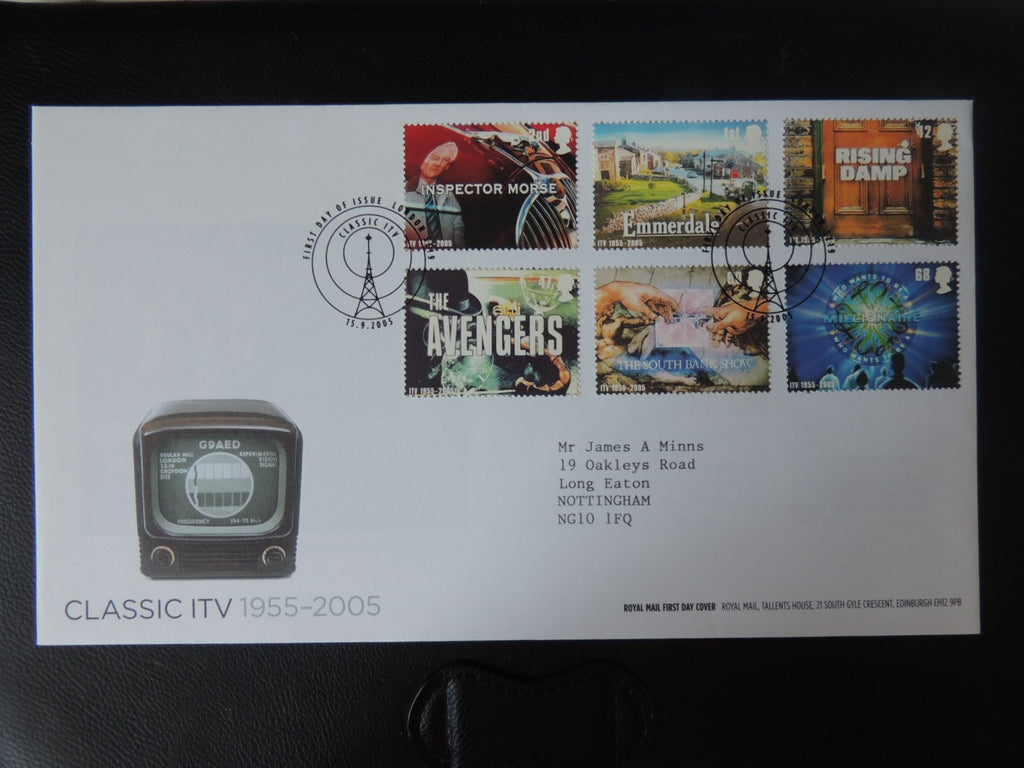 Great Britain Royal Mail 2005 FDC - Classic ITV London SE19 postmark