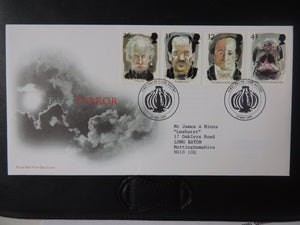 Great Britain 1997 FDC - Tales and Legends Whitby postmark