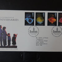 Great Britain 1989 FDC - Anniversaries SW London Letter District postmark