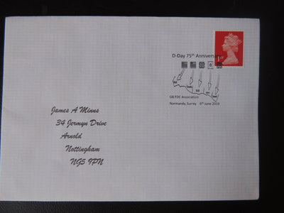 Gb Postmark 75Th Anniversary D-Day 6Jun19 Wwii
