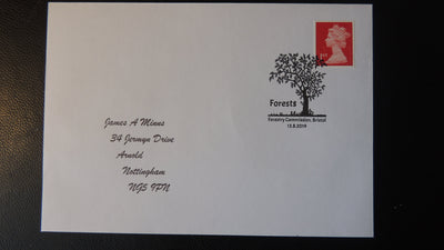 Gb Postmark Forests Trees Forestry Commission Bristol