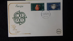 Guernsey 1976 FDC europa relics cept cotswald cover