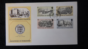Guernsey 1978 FDC old prints art