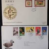 Jersey 1979 FDC wildlife cattle cows bovine