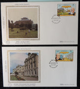 Jersey 1982 FDC x2 benham covers links with france
