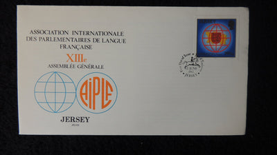 Jersey 1983 FDC french speaking parliaments