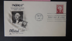 USA FDC 1997 artcraft pacific97 stamp exhibitions washington good used