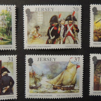 Jersey 1991 Death Anniversary Philippe D'Auvergne set of 4 values SG539-544 unmounted mint (see scan, these are the stamps you will receive)