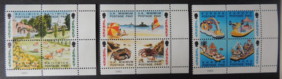 Jersey 1993 Booklet Stamps set of 12 values SG601-612 u/m (see scan, these are the stamps you will receive)