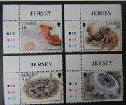Jersey 1994 Marine life set of 4 values SG670-673 u/m (see scan, these are the stamps you will receive)