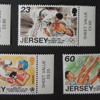 Jersey 1996 Sporting Anniversaries set of 5 values SG746-750 u/m (see scan, these are the stamps you will receive)