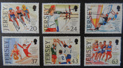 Jersey 1997 Island Games set of 6 values SG818-823 unmounted mint