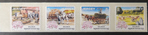 Jersey 1998 Days Gone By SG870-873 set of 4 values self adhesive unmounted mint (see scan, these are the stamps you will receive)