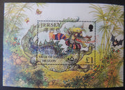Jersey 1999 Chinese New Year MS928 1 value £1 unmounted mint (see scan, these are the stamps you will receive)