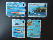 GUERNSEY 1988 POWERBOATS SG429-432 MNH SET 4 VALUES