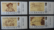 GUERNSEY 1992 500th DISCOVERY OF AMERICA BY COLUMBUS SG556-559 MNH SET 4 VALUES