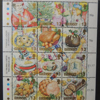 GUERNSEY 1992 CHRISTMAS SG593-604 MNH 12 VALUES