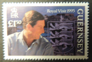 GUERNSEY 1995 ROYAL VISIT SG680 MNH 1 VALUE